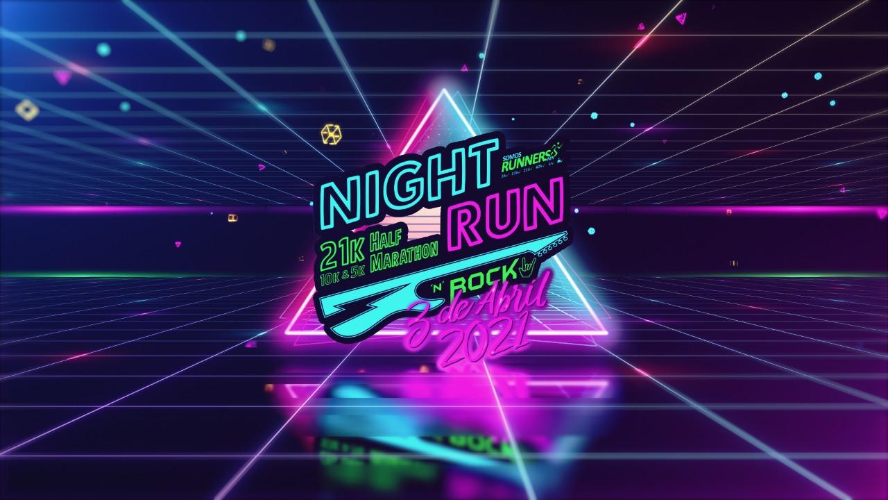 NIGHT RUN & ROCK LA PAZ, HALF MARATHON 2021