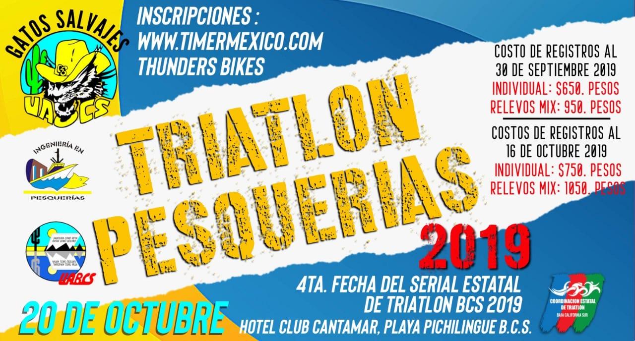 TRIATLON PESQUERIAS 2019